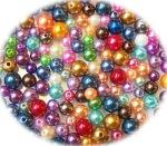 Glaswachsperlen, pearls