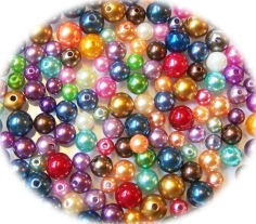Glaswachsperlen, pearls