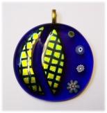 blauer Glasanhänger dicroix http://www.perlenscheune.de/Perlen-online-kaufen/Glas-Art-Glasschmuck:::1_66:3.html
