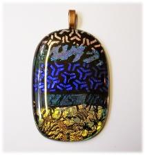 Bild503 Glasanhaenger Dicroic Glasschmuck handmade