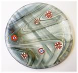 Bild508 Glasteller Glaskunst handmade