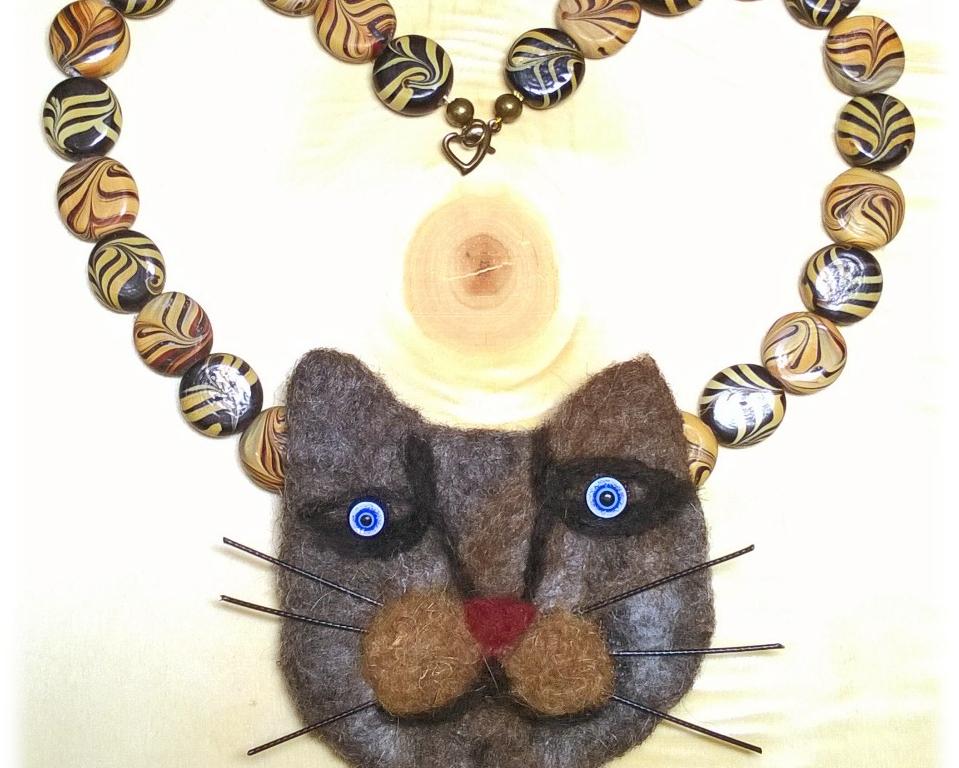 Katzenkette aus Fil